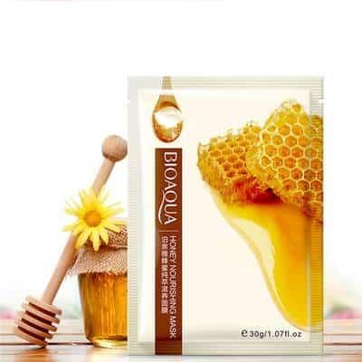 Sheet Mask Terbaik Bioaqua Natural Nourishing Moisturizing Facial Mask Honey