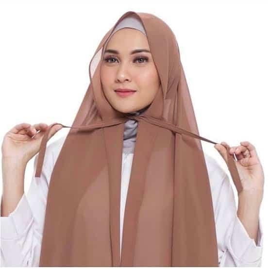 Hijab Instan Terbaru Terbaik Pashmina Tali Diamond Italiano