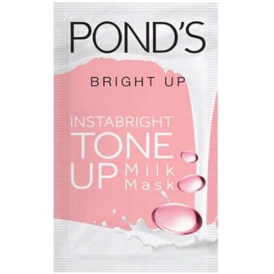 Sheet Mask Terbaik Ponds instabright tone up milk mask