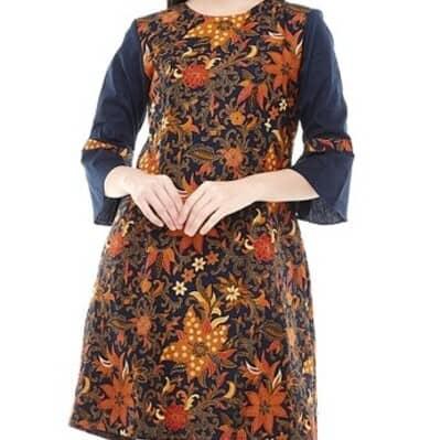 Baju Batik Wanita Terbaik Aksa Batik Melisa Dress