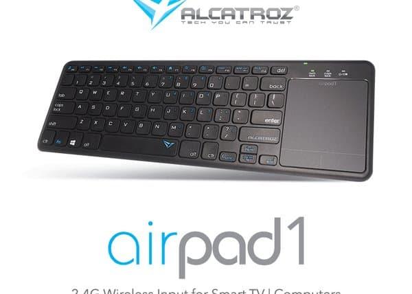 Keyboard Wireless Terbaik - Alcatroz airpad 1