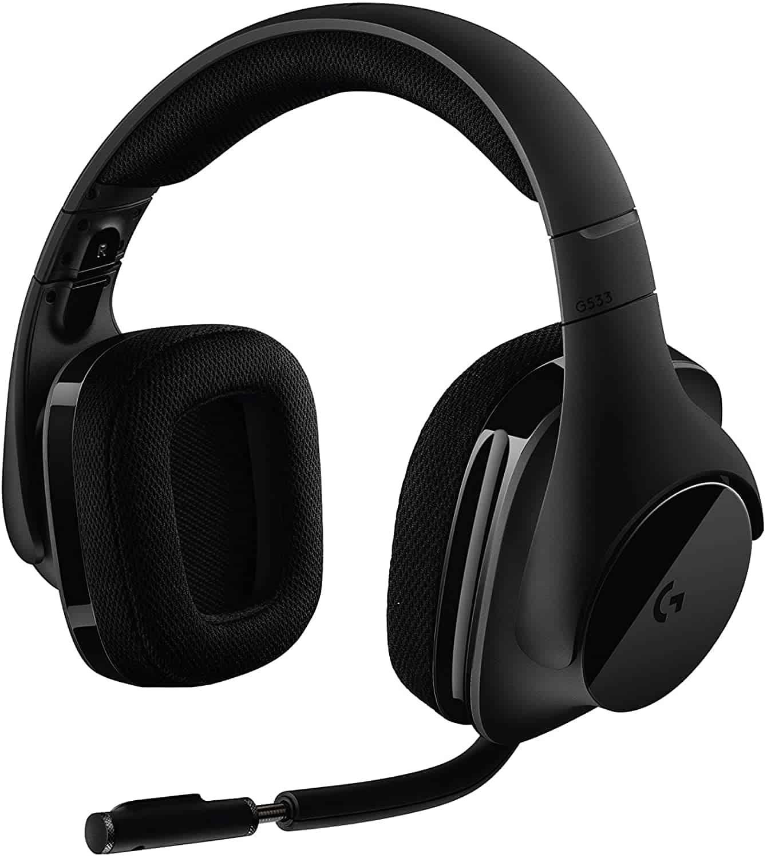 Headset Gaming Terbaik Logitech G533 Wireless
