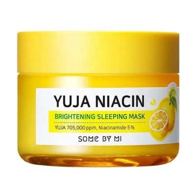 Sleeping Mask Terbaik Some by mi yuja niacin brightening