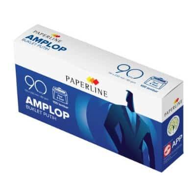 ATK Terbaik Amplop Buklet Putih Paperline 90 PPS