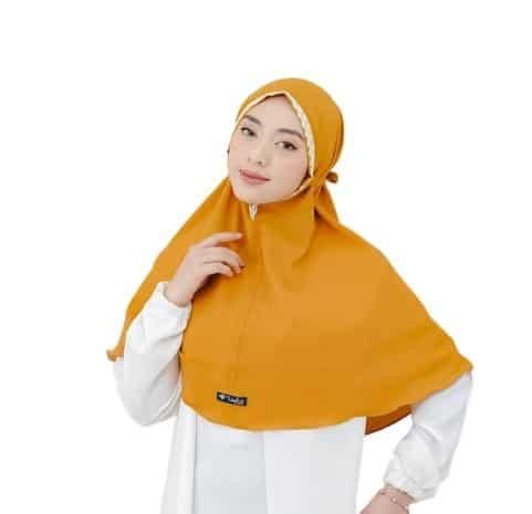 Hijab Instan Terbaru Terbaik Bergo Renda Maryam