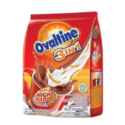 Susu Peninggi Badan Terbaik Ovaltine 3 in 1