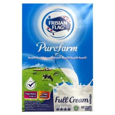 Susu Peninggi Badan Terbaik Frisian Flag Purefarm Full Cream