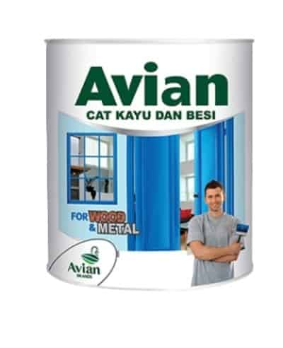 Avian Cat Kayu dan Besi - Cat Kayu Terbaik