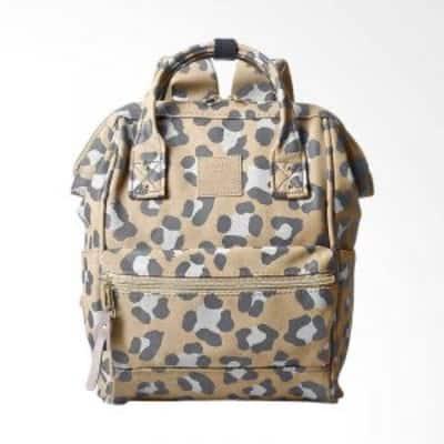 Tas Ransel Wanita Terbaik Anello mini leopard pattern