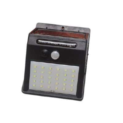 Lampu Dinding Minimalis Outdoor Roppu 30 LED Lampu Dinding Solar Outdoor