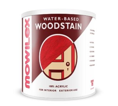 Cat Kayu Terbaik Mowilex Water-based Woodstain