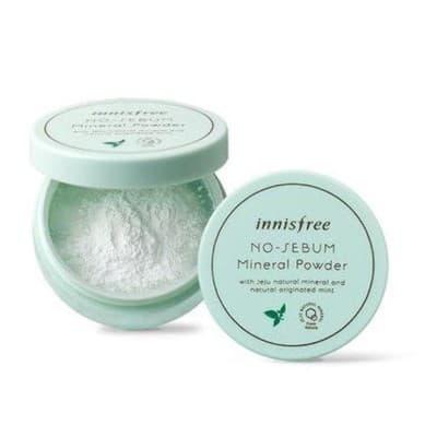 Bedak Penghilang Jerawat Terbaik Innisfree no sebum mineral powder