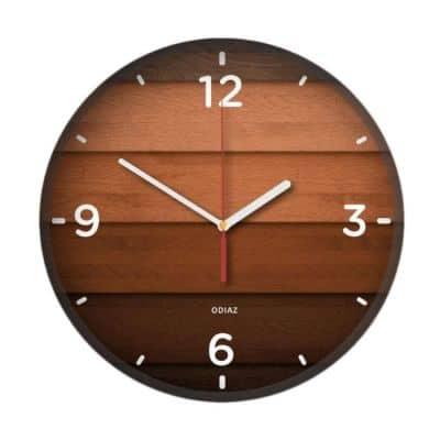 Jam Dinding Minimalis Terbaik Kayu Odiaz