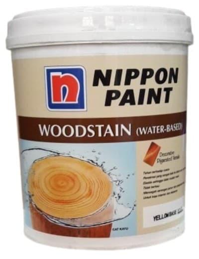 Cat Kayu Terbaik Nippon Paint Woodstain Water-Based