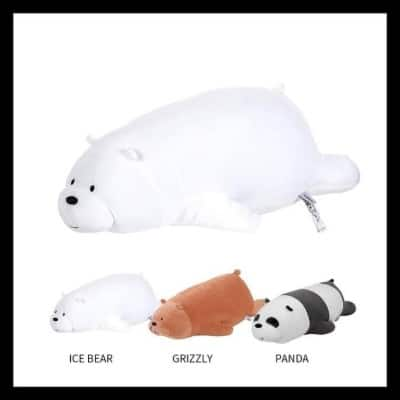 Kado Unik untuk Sahabat Miniso We Bears Bare Lying Plush Toy