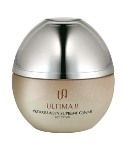Pelembab Wajah untuk Kulit Kering Terbaik Ultima II Procollagen Supreme Caviar Face Cream