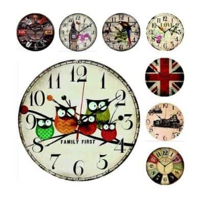 Jam Dinding Minimalis Terbaik Vintage