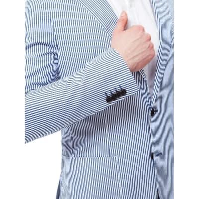 Best Men's Suit Model Tommy Hilfiger - Blazer Jacket Navy