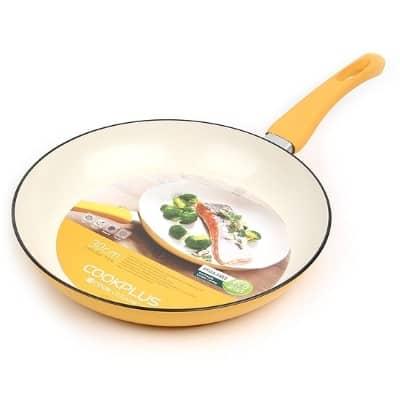 Wajan Keramik Terbaik Hanacobi Locknlock E-Cook Coating Ceramic Deco Fry Pan