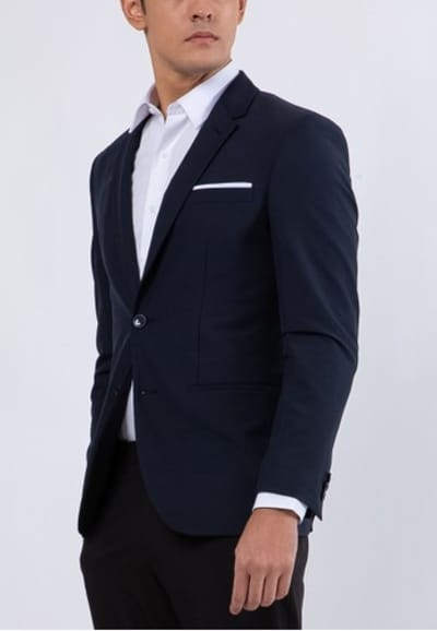 Model Jas Pria Terbaik The Executive 4 Way Stretch Cut