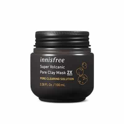 Brand Skincare Korea Terbaik Innisfree super volcanic pore clay mask