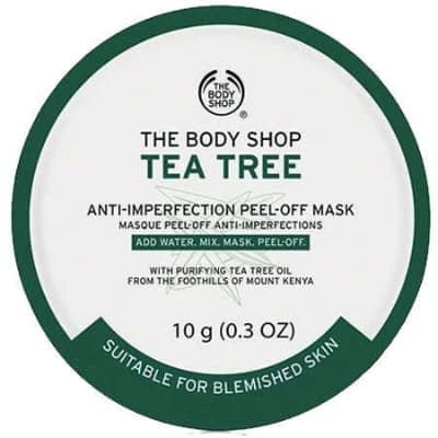 Peel Off Mask Terbaik The Body Shop Tea Tree Peel Off Mask