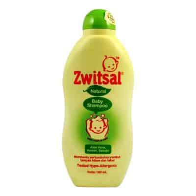 Shampo Bayi Penumbuh Rambut Terbaik Zwitsal Natural Baby Shampoo Aloe Vera, Kemiri & Seledri