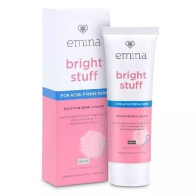 Skincare Emina Bright Stuff Moisturizing Cream untuk Kulit Wajah