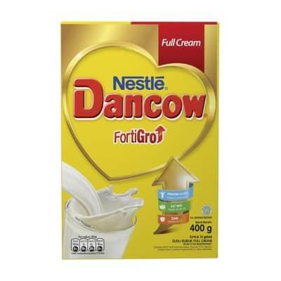 Susu Penggemuk Badan Terbaik Dancow Fortigro Enriched Full Cream