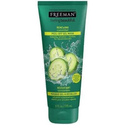 Peel Off Mask Terbaik Freeman RENEWING Cucumber Peel-Off Gel Mask