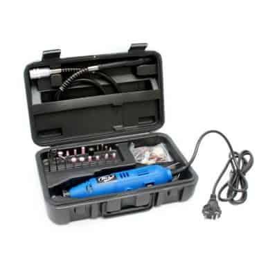 Mesin Gerinda Mini Terbaik H & L HL 130 B Mini Set Mesin Gerinda Bor Tuner
