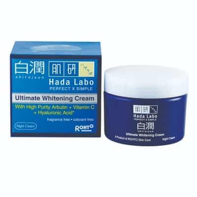 Skincare Hada Labo Terbaik untuk Kulit Wajah Shirojyun Ultimate Whitening Night Cream