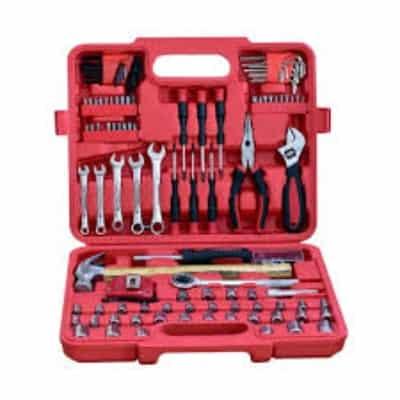 Tool Kit Set Terbaik Kenmaster Kunci Sok 110 Pcs - Red Box