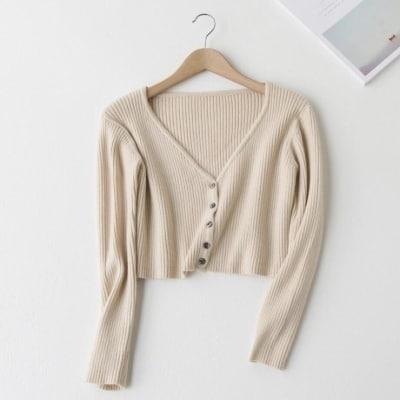 Sweater Rajut Wanita Dewasa Terbaik Crop Top