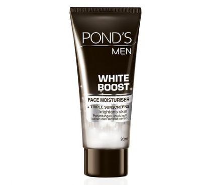 Pelembab Wajah Pria Terbaik Pond's Men White Boost Face Moisturizer