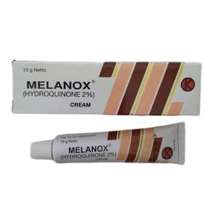 Rekomendasi Penghilang Bekas Luka Melanox Hydroquinone 2%