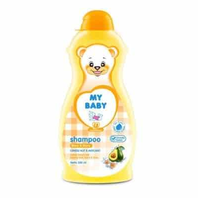 Shampo Bayi Penumbuh Rambut Terbaik My Baby Shampoo Black & Shine