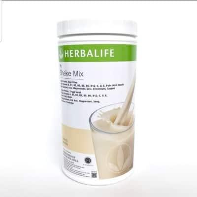 Susu Penggemuk Badan Terbaik Herbalife Nutritional Shake Mix