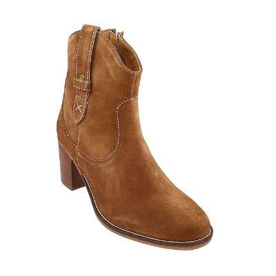 Model Sepatu Boots Wanita Terbaik Hush puppies Hannah mid boot in tan