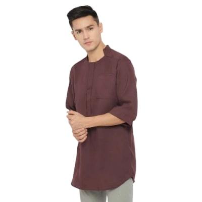 Model Baju Koko Pria Modern Terbaik Kayser Nabhan