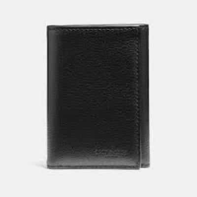 Dompet Pria Branded Terbaik Coach Trifold Wallet Type 23836