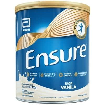 Susu Penggemuk Badan Terbaik Ensure Vanilla