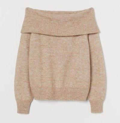 Sweater Rajut Wanita Dewasa Terbaik Off-Shoulder