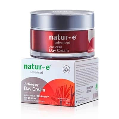 Krim Anti Aging Terbaik Natur-E Advanced Day Cream