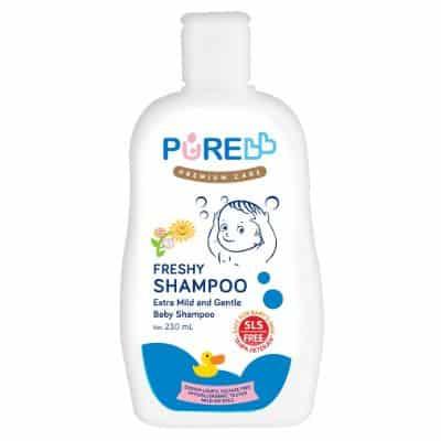 Shampo Bayi Penumbuh Rambut Terbaik Pure BB Freshy Shampoo Extra Mild and Gentle