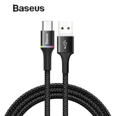 Merk Kabel Data Type C Terbaik Baseus Halo Kabel Data Type C