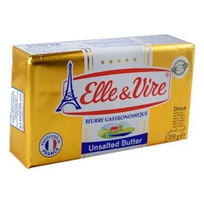 ELLE & VIRE Beurre Gastronomique Unsalted Butter
