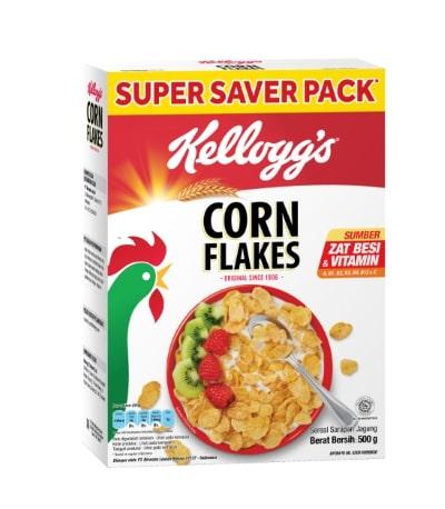 Sereal untuk Diet Terbaik Kellogg's Corn Flakes