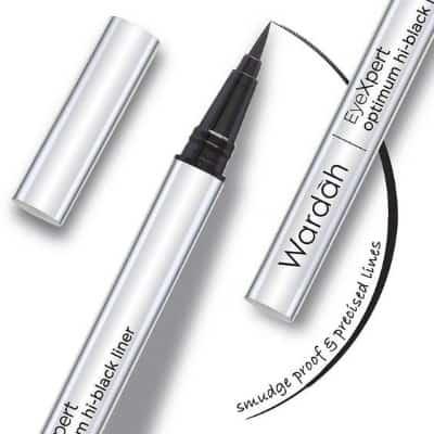 Maskara dan Eyeliner Wardah Terbaik Wardah EyeXpert Optimum Hi-Black Liner