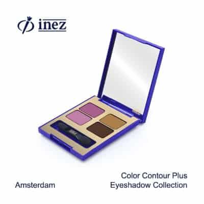 Merk Eyeshadow Terbaik Inez Cosmetics Color Contour Plus Eye Shadow Collection